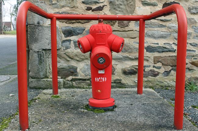 como funciona una red contra incendios