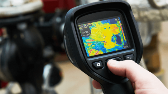 camara termografica deteccion fugas de agua